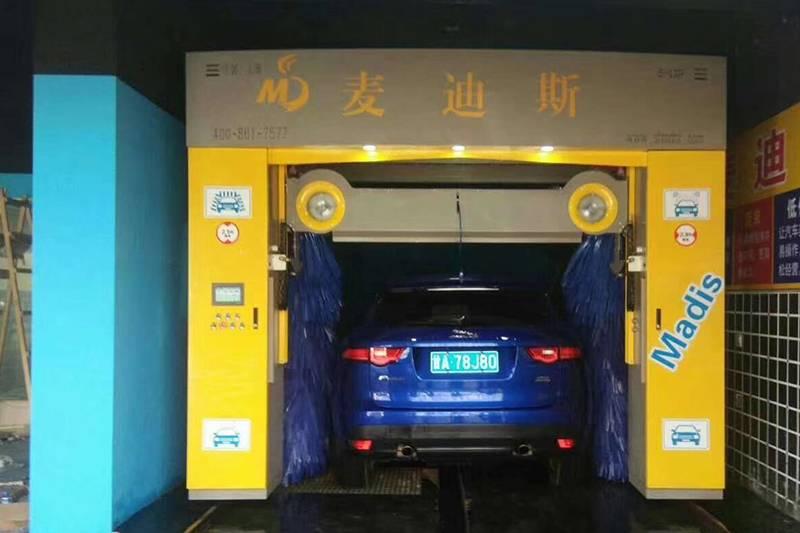 甘肃省兰州市城关区汽车美容快洗中心安装案例