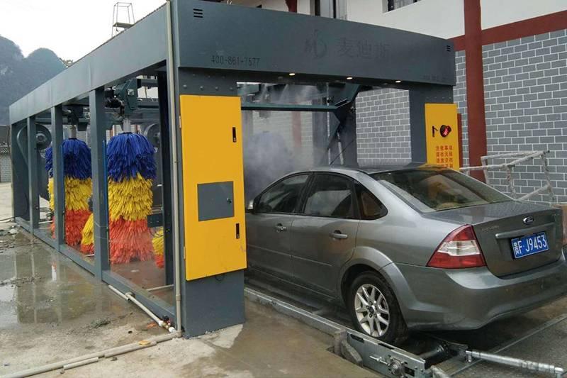 贵州省毕节市织金县京泰安加油站️九刷隧道机安装案例