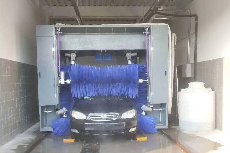 陕西西安吉利汽车新能源安装案例