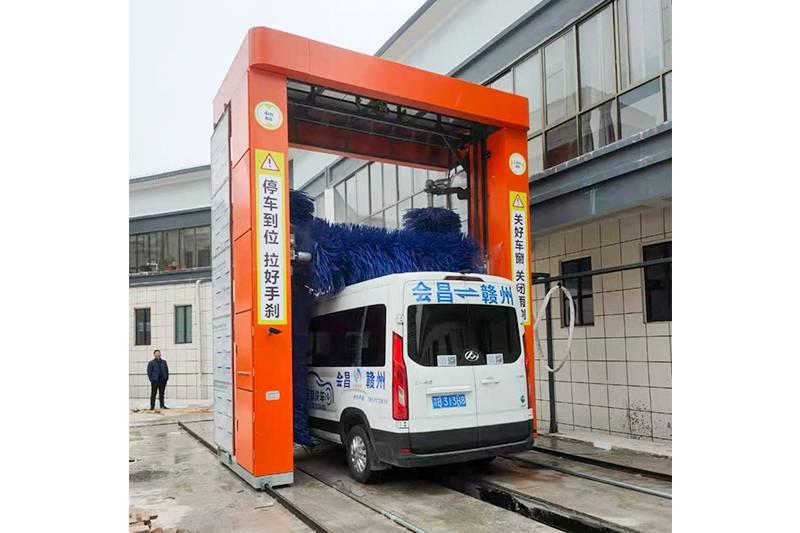 江西赣州往复式大巴安装案例