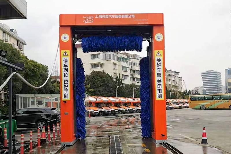 上海市浦东区往复式大巴安装案例