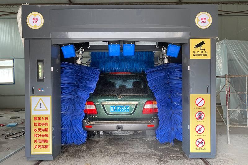 甘肃敦煌洗车店安装案例