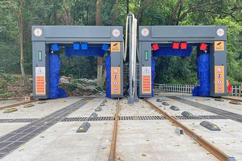 江西景德镇乐平两台洗车设备安装案例