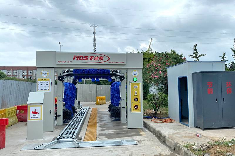 湖北鄂州中石化加油站安装案例