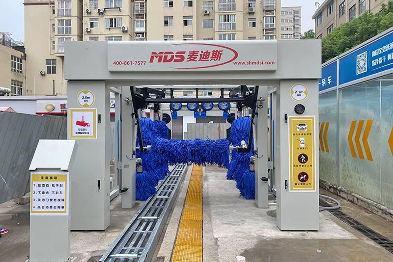 鄂州中石化加油站第二台隧道安装案例