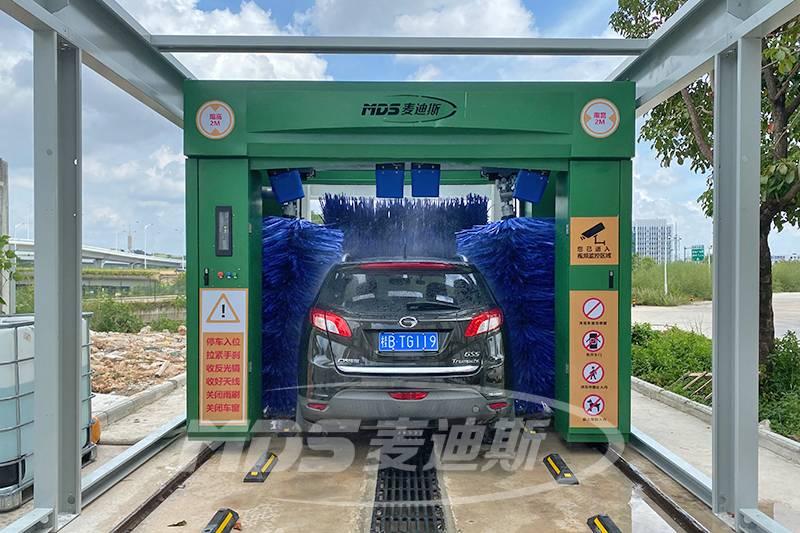 广西铁路康养公司往复式洗车机安装