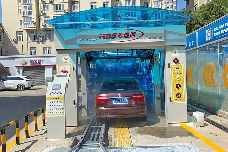 湖北鄂州中石化第四台隧道机